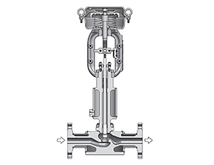 Smart Port Single Seated Control Valves with Steam Jacket