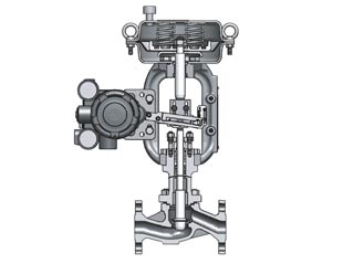 CV3000 series Top-Guided Single-Seated Control Valves