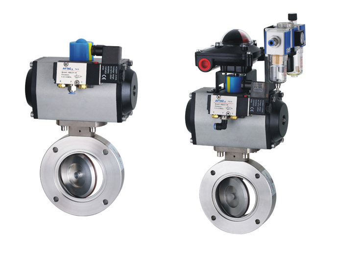 Pneumatic Vacuum Butterfly Valves