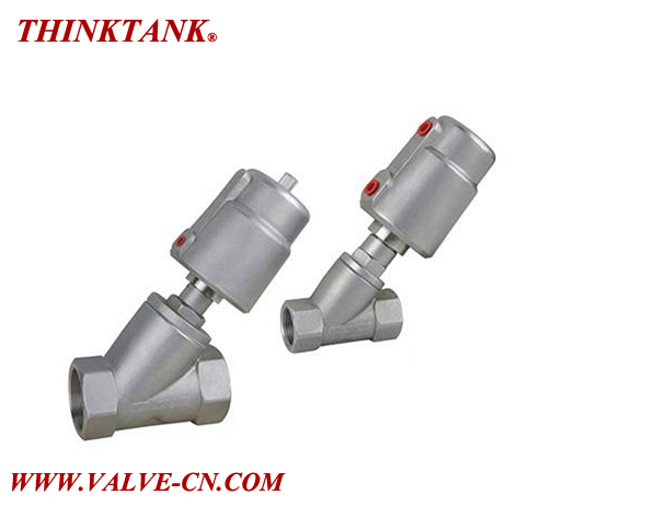 Pneumatically Operated 2/2 Way Angle-Seat Valve