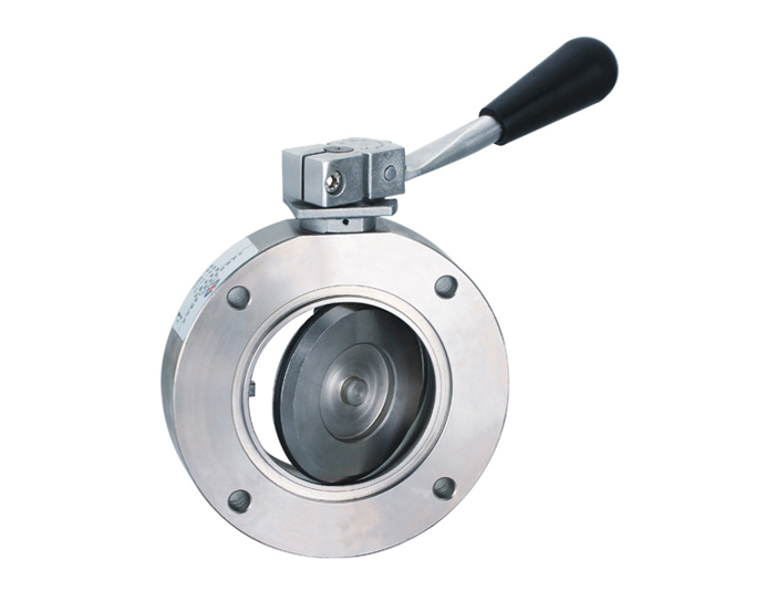 Vacuum Valve, Butterfly Valve, 1Inch, Stainless Steel